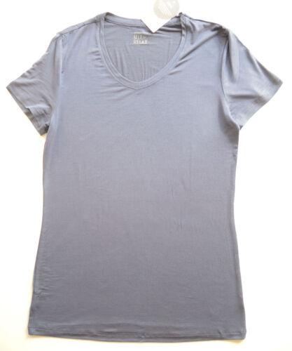 Schiesser Damen Shirt Pyjama Oberteil Mix /& Relax blau Gr.36-48 NEU