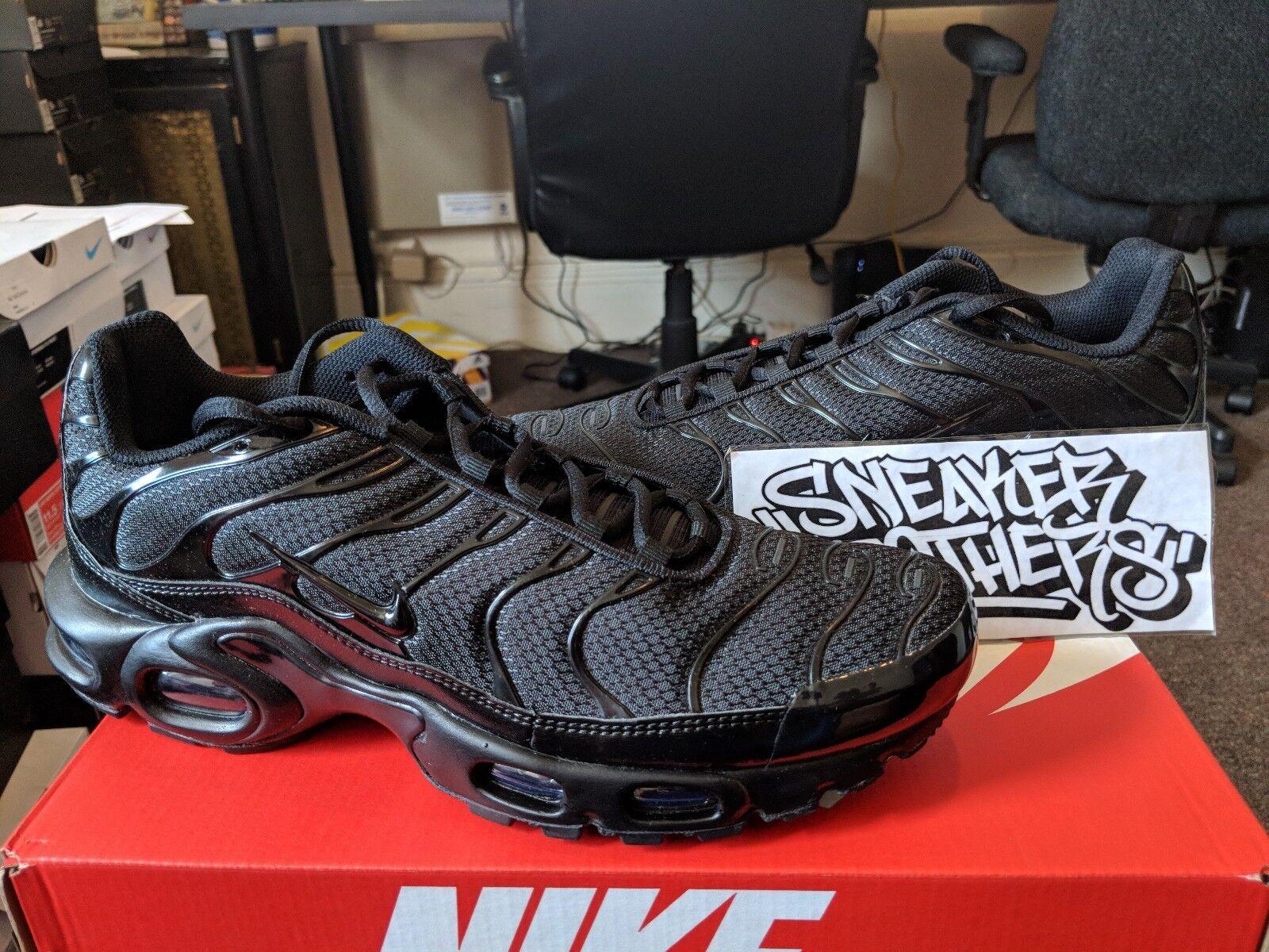 Nike air max 1 triple schwarz limited laufen und tn sie trainer laufen limited männer 604133-050 b429f0