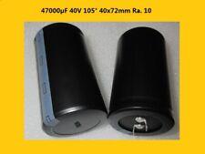 Electrolytic Capacitor Aluminium Elko Capacitor 47000f 47000uf 40v 105 1x