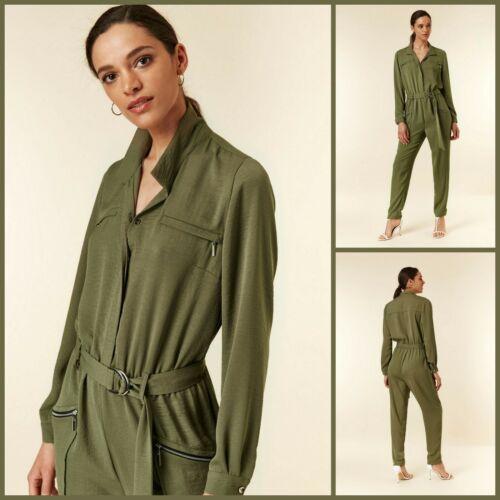 Wallis Jumpsuit Size 8Khaki Utility StyleBNWT£60 RRPBrand New!