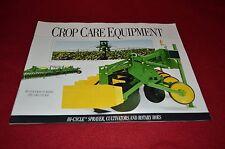 John Deere Crop Care Equipment For 1992 Dealer Brochure GDSD6