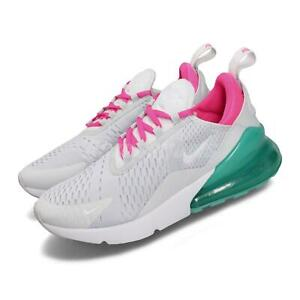 Nike Wmns Air Max 270 Pure Platinum White Pink Blast Women Shoes