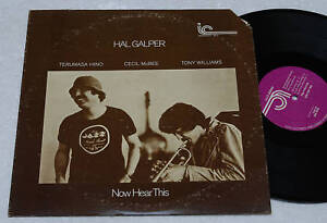 HAL-GALPER-CUARTETO-LP-INTERIOR-CITY-LABEL-NM-1977