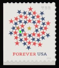 5131 (CF1) Postal Counterfeit Patriotic Spiral Forever Stamp 2016 MNH - Buy Now