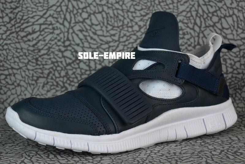 Nike Free Huarache Carnivore SP 801759-413 Obsidian Blue White Catalina Uomo NEW