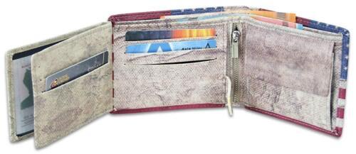 Geldbörse US-Design Geldbeutel Stars /& Stripes Portemonnaie Flaggen Portmonee