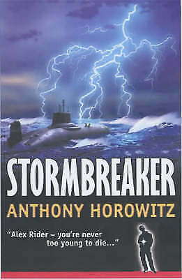 Stormbreaker (Alex Rider) by Anthony Horowitz, Good Used Book (Paperback) FREE &