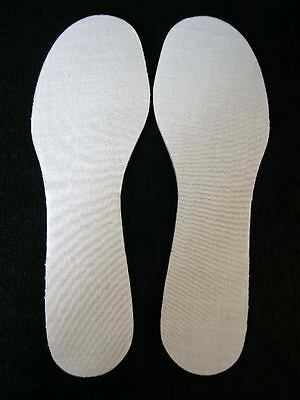 INNER SOLES SUPER THICK FOAM PADDED BOOTS SHOES PAIR UK SIZE 5 PRE-CUT FOR YOU