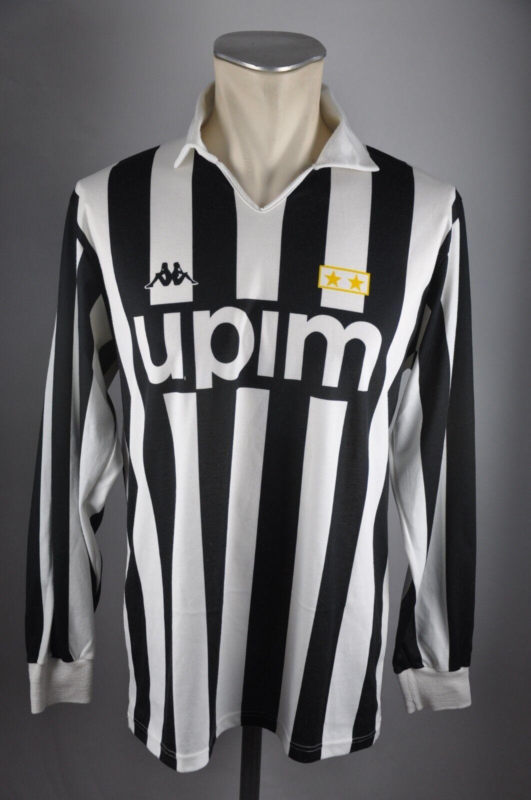 Juventus Turin Trikot 1989-1990 Gr. L Kappa Upim vintage 90er 90er 90er Jersey maglia  | Up-to-date Styling  5d604f