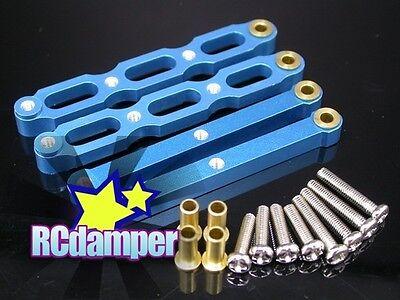 Maxx GPM Racing Alum Front C-hubs Dianteiro E Traseiro Knuckle Arms Silver