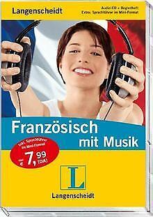 Langenscheidt Französisch mit Musik. Audio-CD mit Beglei... | Buch | Zustand gut
