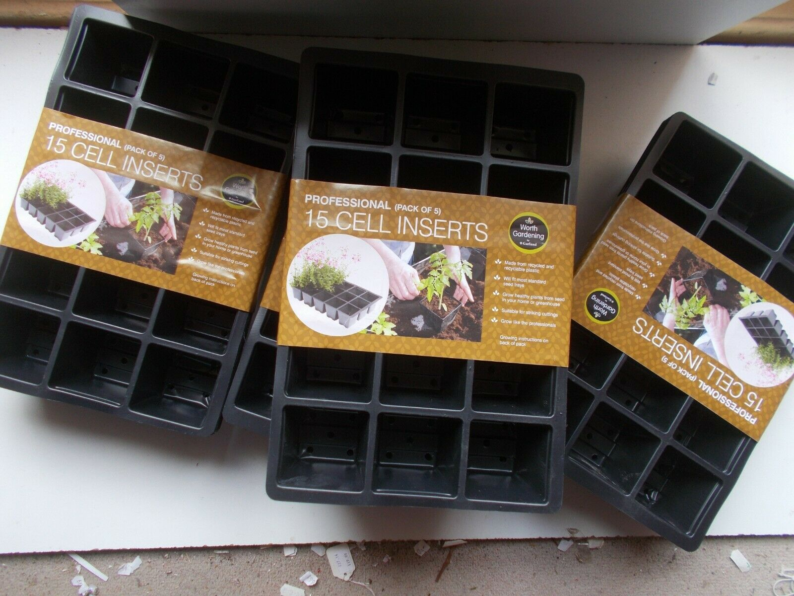 Seed / Gravel / Watering Trays / Seed Inserts / Shuttle trays : Various Styles