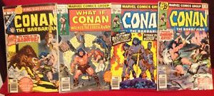 1978-1979-Conan-The-Barbarian-with-King-Size-Annual-4-13-88-91-Comic-Books
