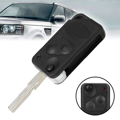 FITS for LAND//RANGE ROVER P38 Replacement 2button Flip Key Case FOB US