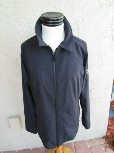 Annika Cutter & Buck Black Zip Golf Jacket Medium