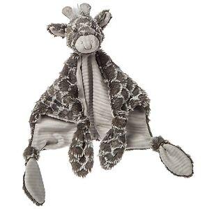 Mary Meyer Grey & White Afrique Elephant Large Comfort Blanket Comforter 42056 Toys For Baby