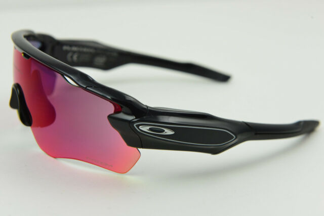 fc0f218486 Oakley Voice Activated RADAR PACE Polished Black Prizm Road Sunglasses  OO9333-01