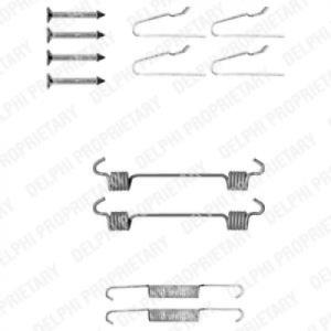 Zubehörsatz Feststellbremsbacken für Bremsanlage DELPHI LY1306