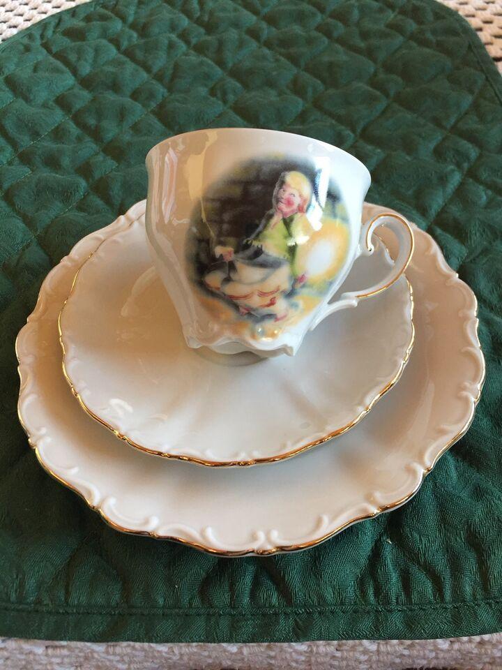 Porcelæn, H C ANDERSEN KOPPER
