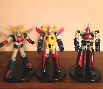 GAIKING, GRAND DIZER, BOLTON ACTION FIGURES JAPANESE SERIES SUPER ROBOT MAZINGER