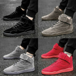 e3989b8c9ce972 Men s High Tops Gym Shoes Weight Lifting Bodybuilding Exercise ...