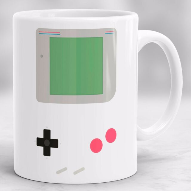Nintendo Video Gameboy Mug, Retro Gamers Birthday Present, Office Gift P27