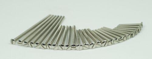 10 LONG EXTENSION ELECTRICAL MACHINE PLUG SOCKET LIGHTS TILE SCREWS 50 and 75 mm