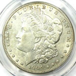 1904-S-Morgan-Silver-Dollar-1-Coin-Certified-PCGS-AU-Details-Rare-Date