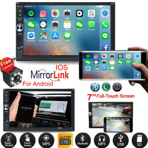 2-DIN-7-034-Car-Stereo-Radio-MP5-FM-Player-AUX-Android-IOS-Mirror-Link-Touch-Screen