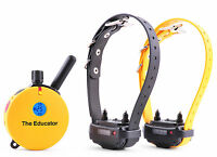 Et-402ts 2 Dog Educator E-collar 3/4 Mile Remote Dog Trainer By E-collar