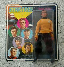 STAR TREK CAPT. KIRK MEGO 1974 FIGURE NEW SEALED ON CARD UNPUNCHED