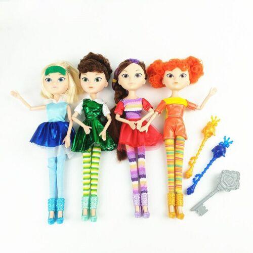 4pcs//Set 25cm Russian Anime Fairy Fantasy Patrol Doll MAWA AEHKA BAPR Action