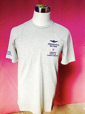 T-shirt da Uomo Dell'Aeronautica Militare, In Cotone colore Grigio nuovissima