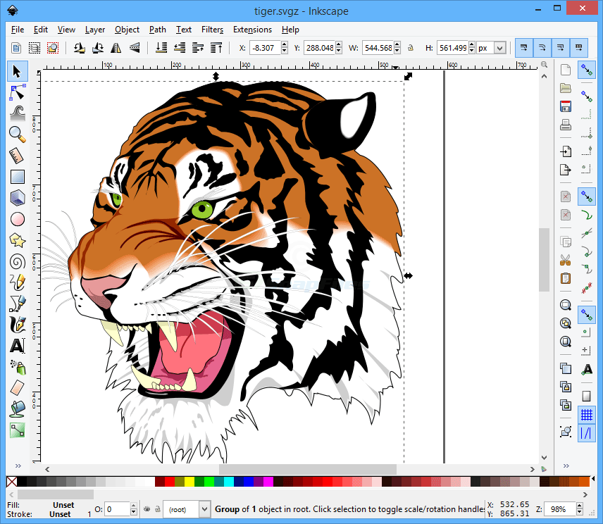 New  CD Inkscape Professional Drawing Software vector graphics for Windows corel 2