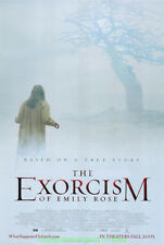 THE EXORCISM OF EMILY ROSE MOVIE POSTER Original DS 27x40 Horror Film 2005