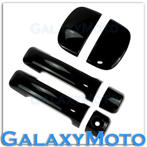 07-13 TOYOTA TUNDRA CREWMAX DOUBLE CAB Gloss Black Tailgate w KH Handle Cover