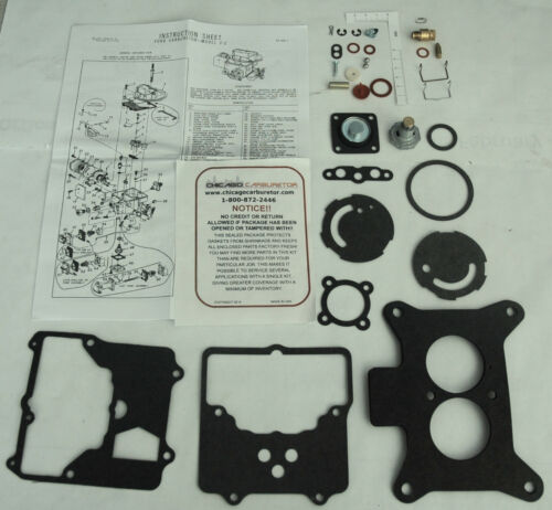 1963-75 AUTOLITE 2100 CARBURETOR KIT FORD TRUCKS 292-302-330-352-360-390 ENGINES