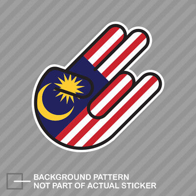 Malaysian Shocker Sticker Decal Vinyl Malaysia MYS MY