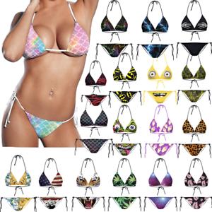 Women-Bra-Bikini-Set-Tie-Side-Girl-Triangle-Swimsuit-Bathing-Suit-Swimwear