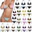 Women-Bra-Bikini-Set-Tie-Side-Girl-Triangle-Swimsuit-Bathing-Suit-Swimwear thumbnail 1