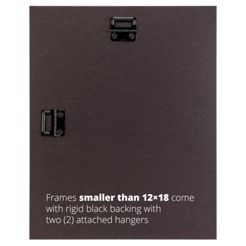 """Craig Frames Premium 1.6/"""" Wide Modern Satin Black Picture Frames /& Poster Frames"""
