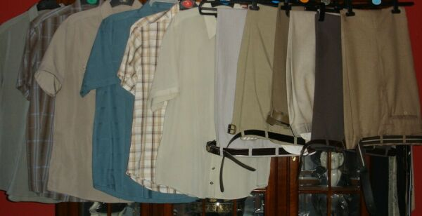 Wholesale/job Lot Of Mens Shirts And Smart Trousers Carino E Colorato
