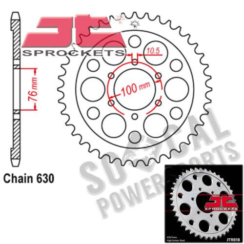 JT Sprockets Steel Rear Sprocket 630 Pitch 40 Tooth Suzuki GS1150ES 1985