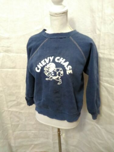 1940's Sweatshirt Chevy Chase Blue Med reverse Wea
