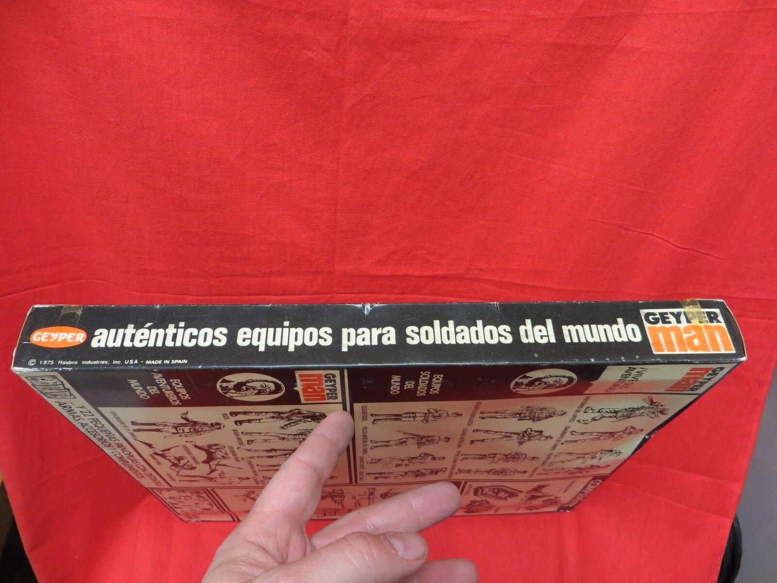 1964 VINTAGE GI JOE GEYPERMAN  JOEZETA JOEZETA JOEZETA   1975  SOLDADOS DEL MUNDO    BOXED 2c9f04