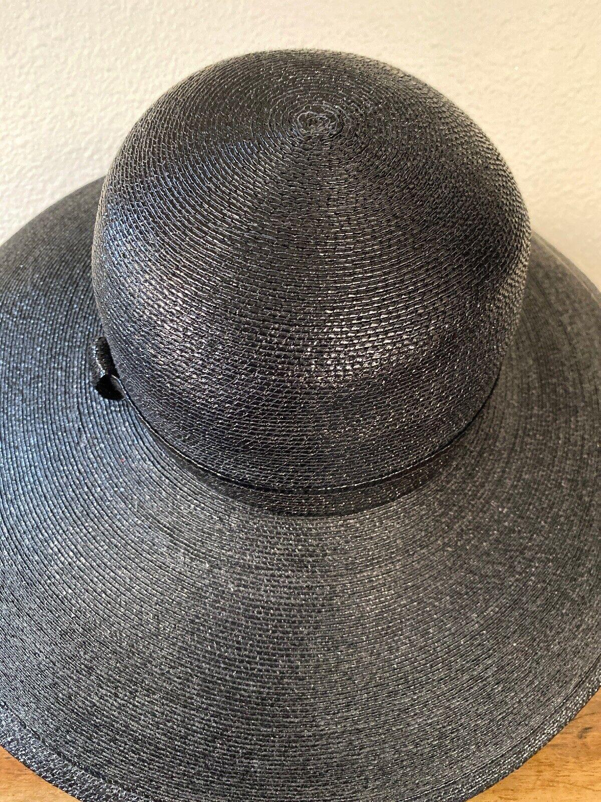 Vintage Amen Wardy Large Hat ! 1980's Large Brim … - image 5