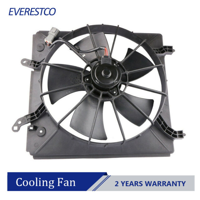 Driver Side Radiator Cooling Fan Assembly For Acura CL TL