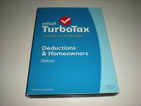 Turbotax 2014 Deluxe. Federal Only + Federal E-file. In Sealed Box.