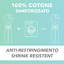 miniatura 4 - Divisa Sanitaria completa in cotone 100% scollo a V per medico infermiere oss