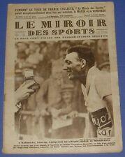 MIROIR DES SPORTS N°435 1928 CYCLISME TOUR FRANCE LEDUCQ TENNIS WIMBLEDON